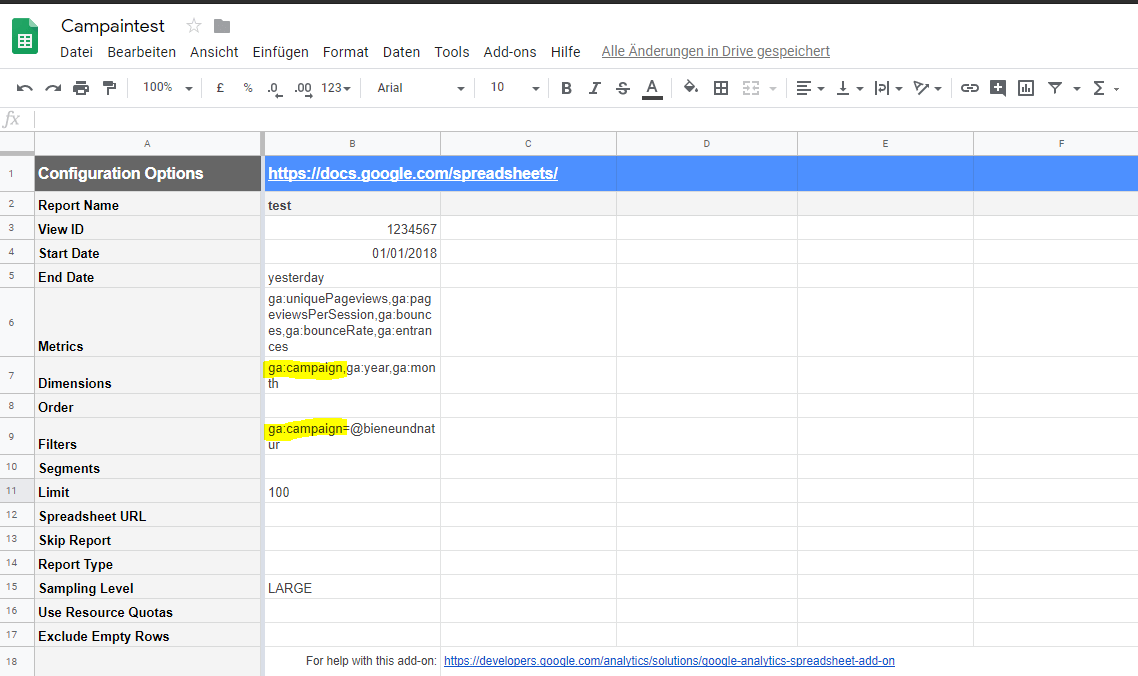 Google Analytics via Google Docs Excel Campain Tracking.png
