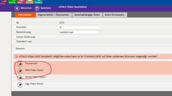 bee.tools Mediathek Upload - Schritt 3